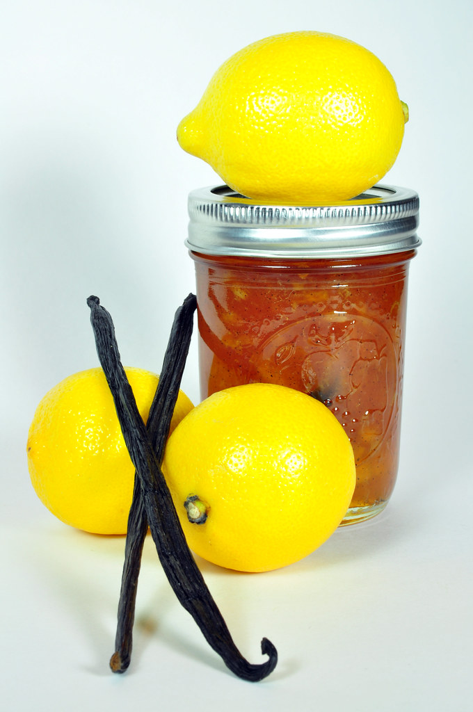 Lemon and Vanilla Bean Marmalade