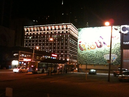 Denver by night