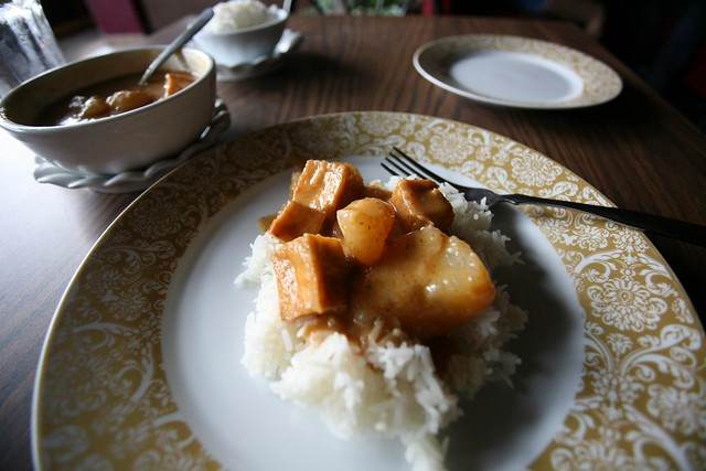 Masman Curry with Tofu
