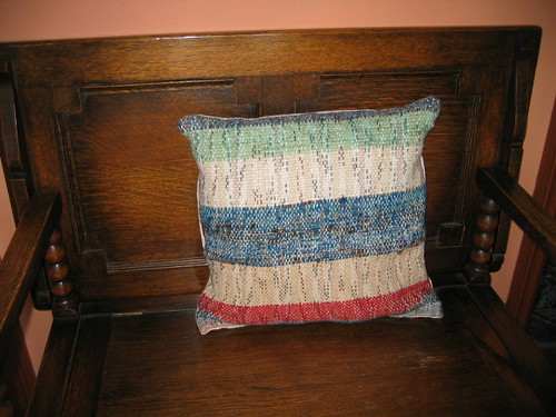 multi-color cushion front