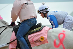 DSC_0438 (downthestretch53) Tags: jockeys horseracing pimlico blackeyedsusanday
