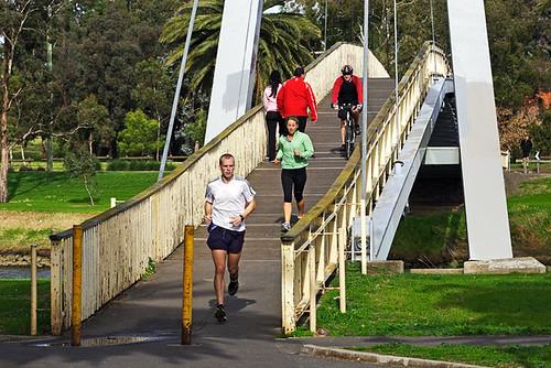 Afton Street Bridge, Essendon, Victoria, Australia IMG_2294_Maribyrnong_River