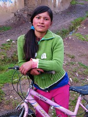 Rosa, cycling in Mallas