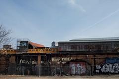 Gleisdreieck 13 (Jrn Pachl) Tags: berlin subway graffiti decay eisenbahn railway ubahn gleisdreieck bvg hochbahn