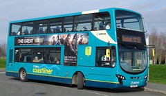 St Asaph (Andrew Stopford) Tags: cx61cdo vdl db300 wright 2dl arriva stasaph