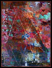 Shadow of the Crow (Tim Noonan) Tags: street autumn red urban art leaves digital photoshop pyramid manipulation figure legacy mosca hypothetical tistheseason vividimagination artdigital shockofthenew sotn newreality sharingart maxfudge awardtree maxfudgeexcellence miasbest maxfudgeawardandexcellencegroup daarklands flickrvault trolledproud trolledandproud magiktroll newgoldenseal