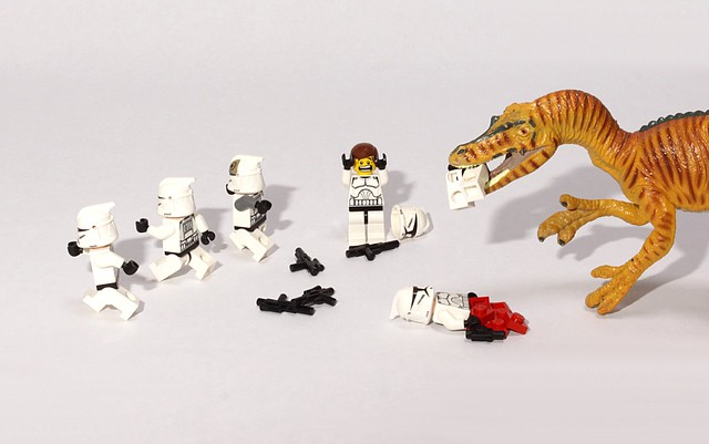 Star Wars vs Jurassic Park
