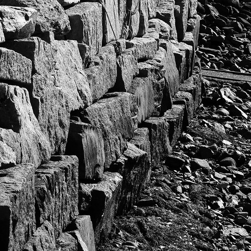 Seawall at Perkin's Cove, Maine