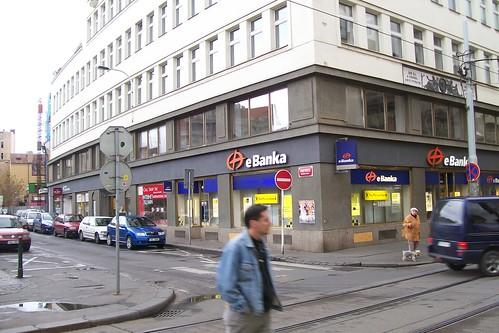 еБанка - Прага, Чехия