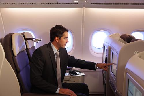 A bord de l'A380 Air France  (5)