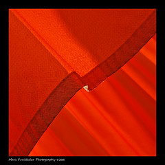 The Gates at Central Park by Christo and Jeanne-Claude (Marc Funkleder Photography) Tags: red orange usa newyork abstract nikond70 centralpark saffron christo thegates jeanneclaude