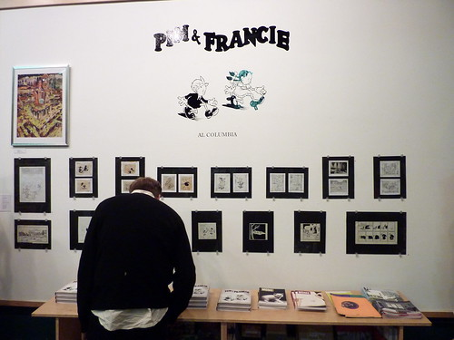 "Al Columbia ""Pim & Francie"" Exhibit Opening/Book Signing, Nov. 7, 2009"