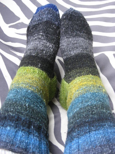 plain silk garden winter socks