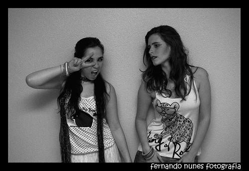 Nathy e Vanessa