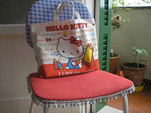 Minha nova cadeira