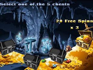 free Dragon's Loot gamble bonus game