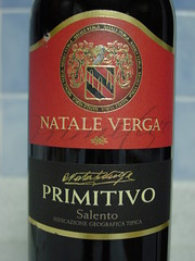 2007 - Natale Verga, Primitivo, Italy (Guenther Lutz) Tags: wine red italy nataleverga primitivo salento pugliaregion inicazionegeograficatipica cybershot sony november 2009 impact indoor label redwine closeup