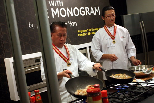 Culinary Experience with GE Monogram by Chef Martin Yan 12