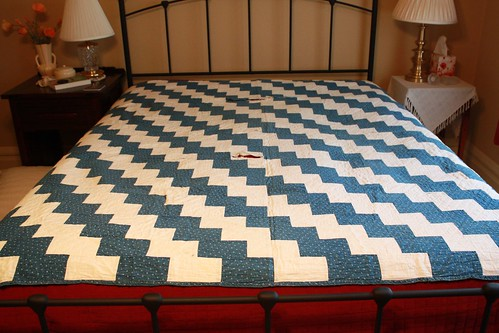 "Antique ""Brick"" Quilt"