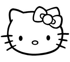 Hello kit - sempre amada pela meninada!!!! (ARTESonhos - Feltro e tecido - Sheila Sansão) Tags: kit feltro bolsa molde chaveiro portamoedas hellokit