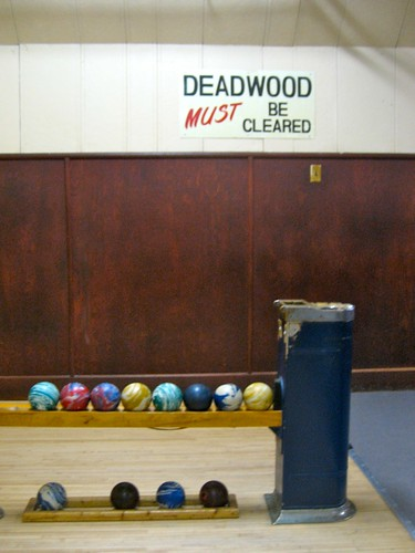 Deadwood Must Be Cleared