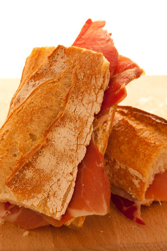 bocadillo with jamon