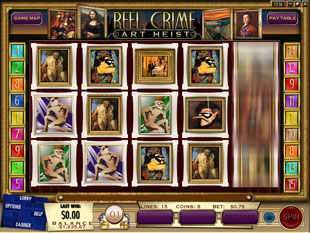 Reel Crime 2 Art Heist slot game online review