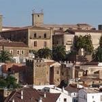 Cáceres: arco del cristo general