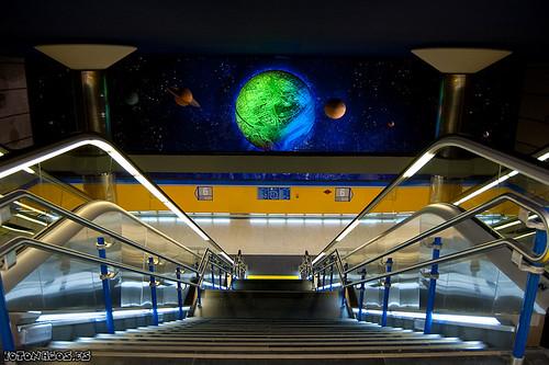 El metro más astronómico