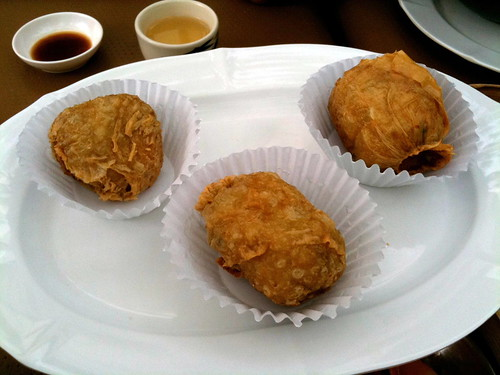 Deep Fried Crab Dumpling