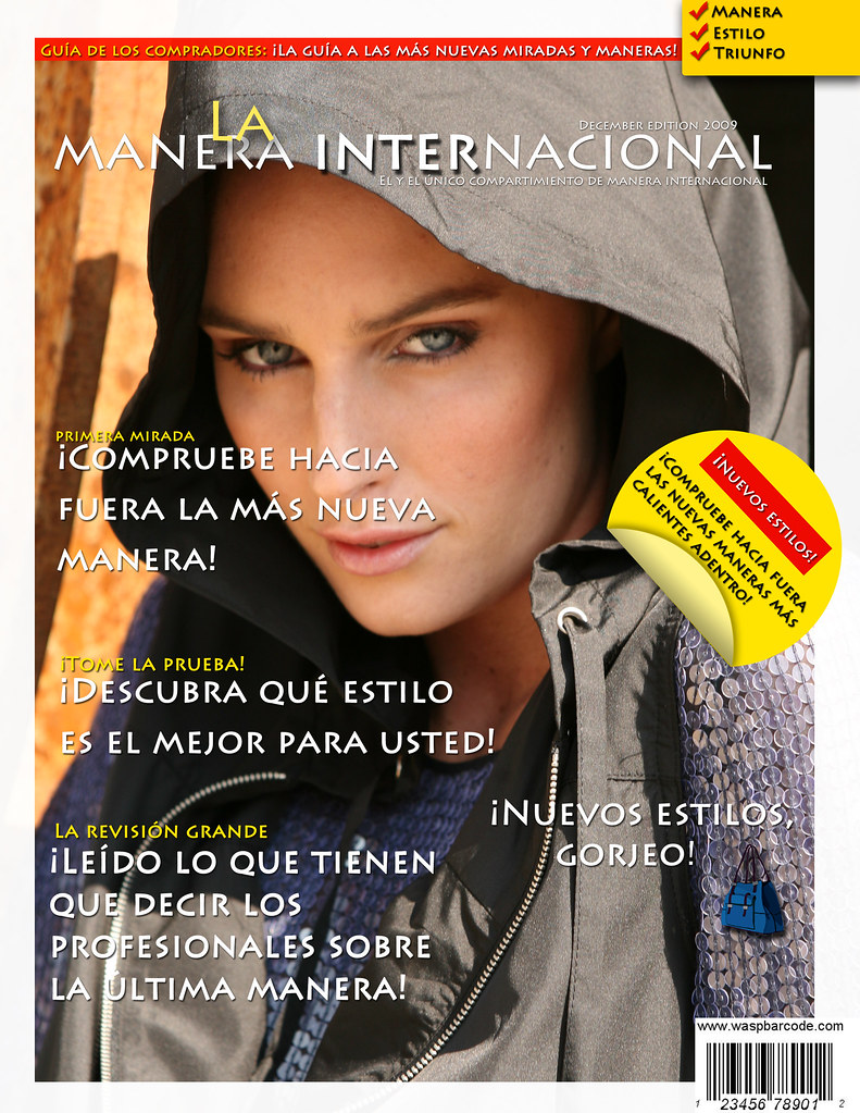 Spanish Project Magazine Cover