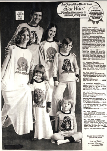 Star Wars' Sleepwear - Sears Wish Book Catalog...