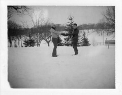 first day of winter (julia:elise) Tags: winter hehe officially youknow polaroid360 powderhornpark 667film meandmartha shesafunnyone andnowitshere andsheloveshersomewinter