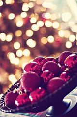 Happy Holidays to Everyone! (cord1964) Tags: christmas decorations holiday reflections lights nikon raw bokeh balls 2009 50mmf14 shallowdof dsc2019copy