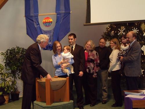 Drew's Baptism