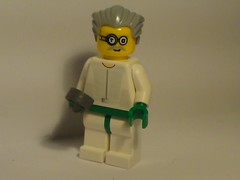 Chief Research Technician on Sirius Vega (burakki62) Tags: lego space scifi minifig custom moc
