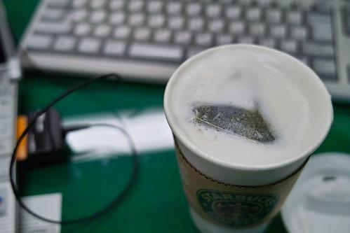 ほうじ茶ティーオレ