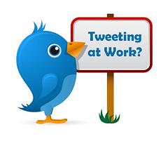 Твіттер в роботі