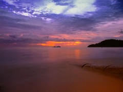 Last light (ishafizan) Tags: sunset sunrise lumix dawn dusk panasonic malaysia firstlight pulaupinang subuh topseven theunforgettablepictures fz28 ishafizan permatangdamarlaut