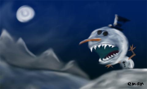 Snowman Rawr