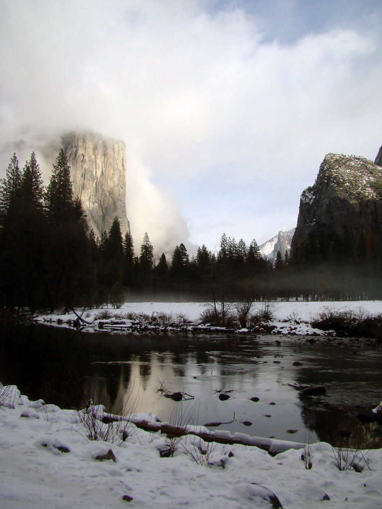 DSC04138 Yosemite Valley - El Capitan and Merced River