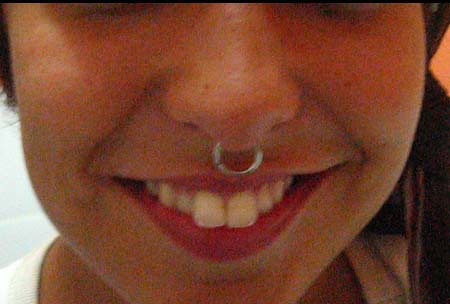 septum piercing price. small septum piercing.