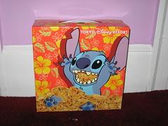 Tokyo Disney Resort Stitch Popcorn