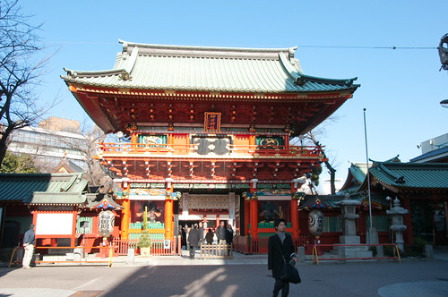 Kanda Myoujin Zuishin gate