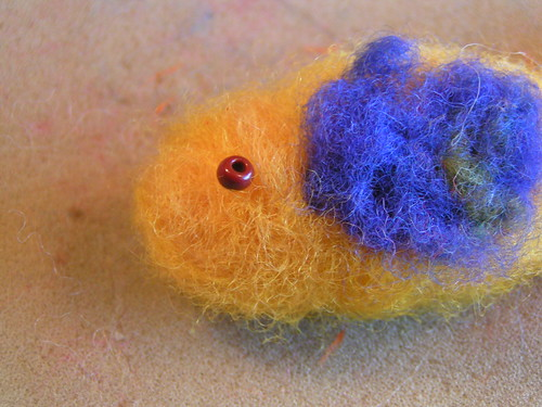 needle felt bird tutorial