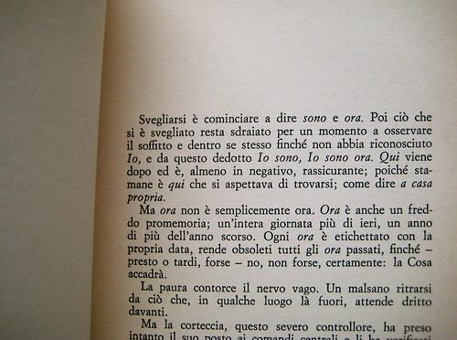 Christopher Isherwood, Un uomo solo, Guanda 1981, p. 9 (part.)