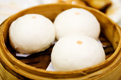 steamed buns filled with lotus seed paste