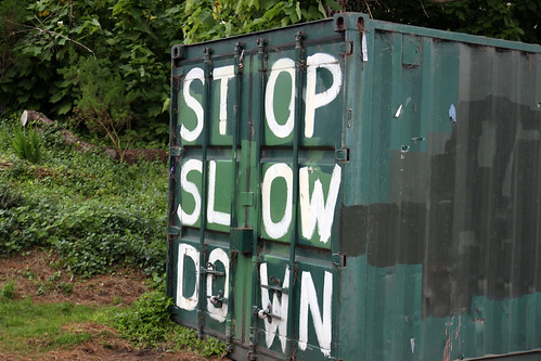 stop slow down
