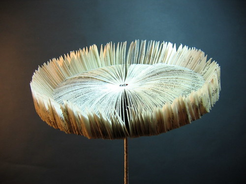 Book Art Sunflower
