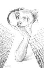 Self Portrait, Preparatory Sketch (Ben Heine) Tags: selfportrait art face digital pencil work painting sketch crazy eyes artist arm drawing surrealism fingers perspective surreal dessin peinture yeux study creation anatomy unfinished process making numrique makingof deconstruction visage regard stepbystep croquis highres prparation preparatory bauche preparatorysketch benheine roughwork